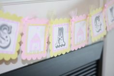 """""""It's A Girl"""" Baby Shower Sign"""