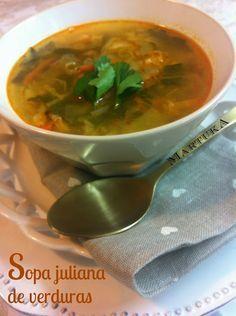 Sopa Juliana De Verduras | Cocina