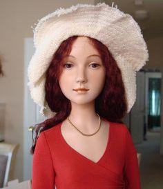 KATYA Artist Porcelain Doll by Alexandra Koukinova