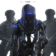 ArtStation - Ghost in the Shell - Cyborgs, Maciej Kuciara
