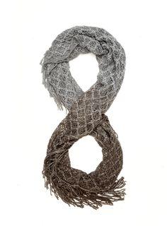JESSICA SIMPSON Ombre Crochet Infinity Scarf $24.99