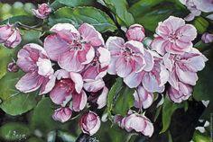 Натюрморт ручной работы. Ярмарка Мастеров - ручная работа. Купить Цветение.. Handmade. Живопись, масло, этюд, розовые, масло