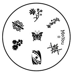 MoYou Image plate 03 Image Plate, Nail Stamping, Nail Art, Symbols, Plates, Stuff To Buy, Licence Plates, Dishes, Icons