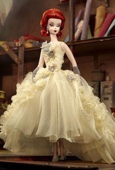 BFMC Fashion Model Silkstone Robert Best 2012 Gala Gown Barbie Doll NRFB W3496