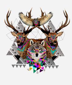 'Forest Friends' - Kris Tate