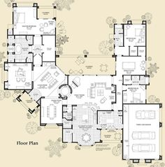 ideal open floorplan. love the master and play room.
