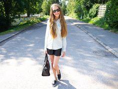 Pinja K: Denim and leather