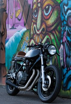 Custom build Cafe Racer Yamaha XS750