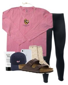 """""""Happy New Years!"""" by sophiavarrrr ❤ liked on Polyvore featuring Under Armour, Kate Spade, philosophy and Birkenstock"""