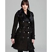 Burberry London Coat - Hadston Shearling. This coat is darling! MUST HAVE!