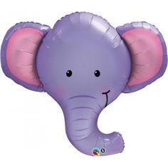 34 Jumbo  pink Elephant Balloon