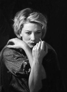 Cate Blanchett by Simon Annand