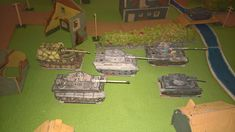 scale formation of German tanks from table top game designed by myself. Tank War, Baseball Field, Game Design, Tanks, Scale, German, Paper, Top, Weighing Scale
