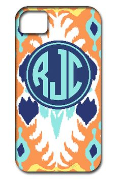 customized and monogrammed iphone case