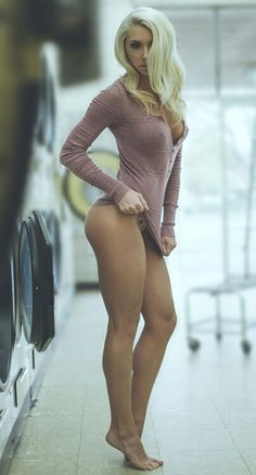 Her legs are just... wow! She's sexy and she knows it.