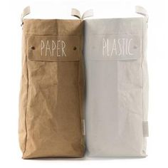 Gorgeous natural laundry bag in washable paper by Uashmama. Uashmama paper bags are made of natural fibers and famous for their style, quality and multifunction. Uashmama paper bags are availabel at Petite Lily Interiors in various colors and models. Paper Culture, Natural Brown, Bag Storage, Storage Organization, Ugg Boots, Uggs, Leather, Laundry Bags, Laundry Room