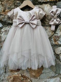 Girls Dresses, Flower Girl Dresses, Sewing, Wedding Dresses, Fashion, Flower Girl Gown, Gowns, Dresses Of Girls, Bride Dresses