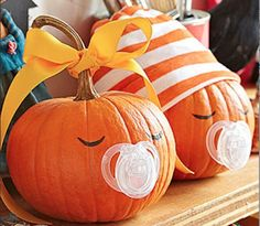 8 Creative Ideas for a Fall-Themed Baby Shower-If your baby shower is being held in the fall, you should take a look at some of these fall-inspired party ideas.
