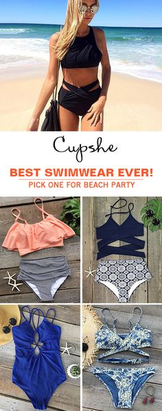 Live life on the beach. Treat yourself to the hottest items of the season in this halter bikini set. Call your friends or family and taste cool seaside moments together. Check it.