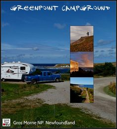 RV Trip to Gros Morne National Park Newfoundland – Part 3 Greenpoint Campground and coastline highlights. http://www.loveyourrv.com/rv-trip-to-gros-morne-national-park-newfoundland-part-3/ #RV #RVing #Newfoundland #Travel