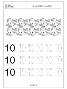 1st Grade Writing Worksheets, Alphabet Writing Practice, Letter Worksheets For Preschool, Numbers Kindergarten, Preschool Writing, Alphabet Worksheets, Kindergarten Worksheets, Tracing Worksheets, Number Worksheets