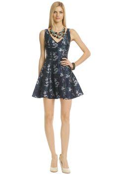 Floral Sunday Blues Dress