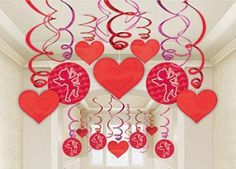 Hearts streamers