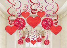 Hearts streamers