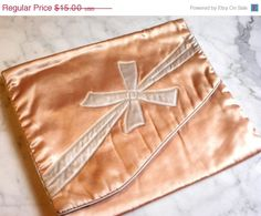 Vintage Beautiful Lingerie Bag from 1930's Peach by YeOleEmporium, $12.00