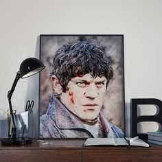 Ramsey Bolton Snow  Game of Thrones Art Print by BlackSailsUK