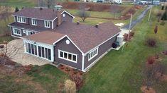 635 rang du Haut-De-La-Riviere, St-Francois-Du-Lac Shed, Outdoor Structures, Mansions, The Originals, House Styles, Home Decor, Real Estate Broker, Top, Decoration Home
