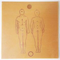 Placa Radiônica Figura Humana. A figura masculna e a figura feminina simbolizam o equilíbrio da polaridade oposta.  >>> http://www.dhonellalojavirtual.com.br/radionica/2289-placa-figura-humana-cobre-g.html