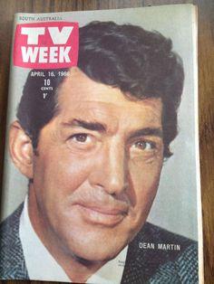 TV Week Mag April 1966. Dean Martin, Herman's Hermits, Robert Vaughan