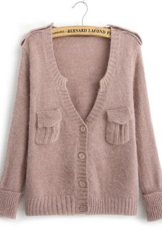 this dusty nude knit +