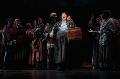 Sharon Metz as Yente in Cocoa Village Playhouse production of 'Fiddler on the Roof,'  photo by Goforth Photography