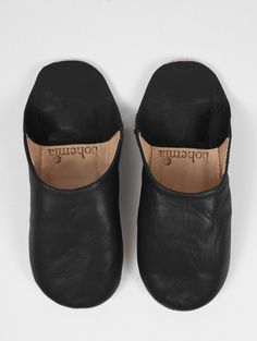 Bohemia Black Women's Babouche Slippers