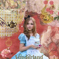 Wonderland by On a Whimsical Adventure - Digishoptalk - The Hub of the Digital Scrapbooking Community