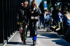 The Gucci-est Street Style Looks From Yesterday's Gucci Show Photos | W Magazine