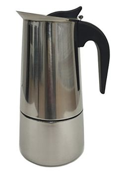 Maxware Stainless Steel Stovetop Espresso Maker(6-cups) - Commute Coffee Espresso Machine Reviews, Best Espresso Machine, Espresso Maker, Espresso Coffee, Coffee Maker, Italian Espresso, Coffee Varieties, Coffee Accessories, Coffee Filters