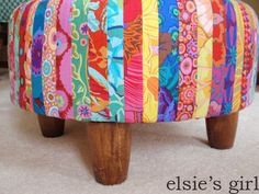 elsies girl: presenting the tuffet!