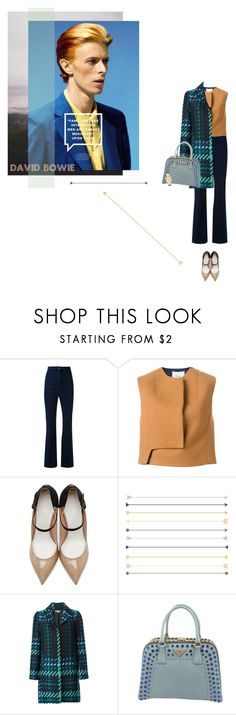 """""""HERO - DAVID BOWIE"""" by nicolesynth ❤ liked on Polyvore featuring Manning Cartell, 3.1 Phillip Lim, Maison Margiela, P.A.R.O.S.H., Prada and Movado"""