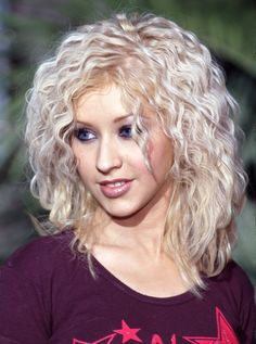 Crimped hair was all the rage in the '90s. #90shair #throwback