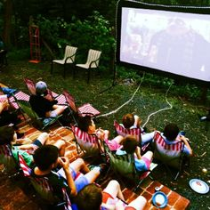 Melbourne's Mobile Backyard Movie nights in Melbourne, VIC, Cinema Picnic Blanket, Outdoor Blanket, Backyard Movie Nights, Melbourne, Cinema, Garden, Movies, Movie Theater, 2016 Movies