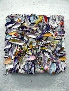 no title, 40 x 40 x 10 cm, oil paint, Will Jansen