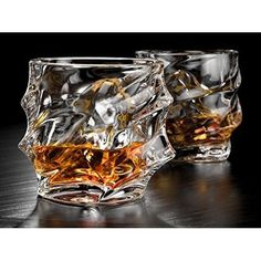 Glasses For Drink Vintage Whiskey Glass Scotch Glasses Liquor Glaas Set Of 2 #DrinkGlass
