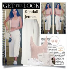 """""""Get The Look: Kendall Jenner"""" by zerina93 ❤ liked on Polyvore featuring O'2nd, Exclusive for Intermix, Yves Saint Laurent, Fendi, adidas, Accessorize, Monica Vinader, polyvoreeditorial and topset"""