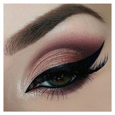 Makeup Addict ❤ liked on Polyvore featuring beauty products, makeup, eye makeup and eyes