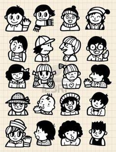 Cartoon people doodle stock photo cartoon drawings of people, sketches of people, cartoon people Cartoon Drawing Tutorial, Cartoon Girl Drawing, Drawing Tutorials, Drawing Tips, Drawing Art, Figure Drawing, Doodle Cartoon, Cartoon Drawings Of Animals, Giada De Laurentiis