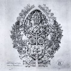 Plate 12 'Values of Overlap and Overlay' from Louis Sullivan's 'System of Architectural Ornament', 1923 Architecture Diagrams, Architecture Details, Louie Louie, Louis Sullivan, Everything Is Illuminated, Rogues, Thesis, Geology, Overlays