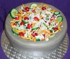 Dort šopský salát